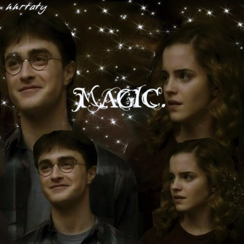 Harry and Hermione wallpaper called H/Hr*