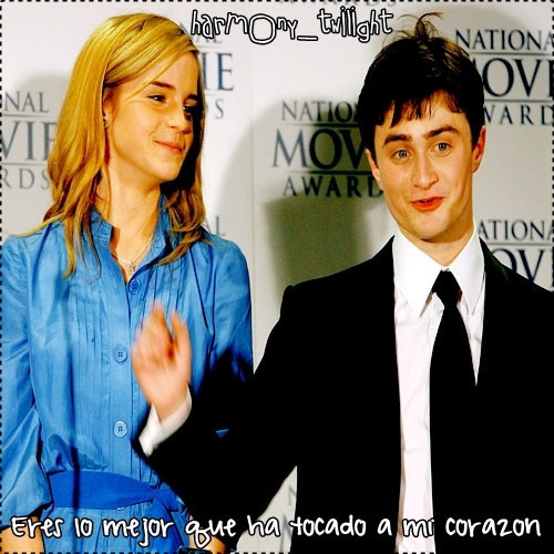 Harry and Hermione wallpaper containing a business suit and a suit titled H/Hr*