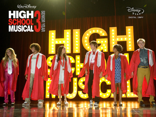 High School Musical 3 wallpaper called HSM3: Extended (DVD+Digital Copy) Exclusive Wallpaper