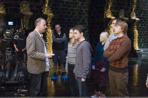 Harry Potter and the Order of the Phoenix > On the Set