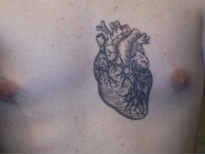 Heart tattoo - Tattoos Photo (7476278) - Fanpop