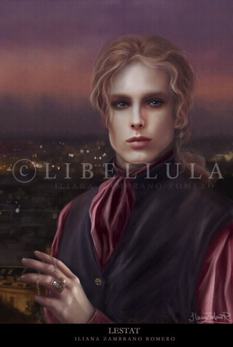 Interview with a Vampire wallpaper containing a portrait entitled Interview with a Vampire