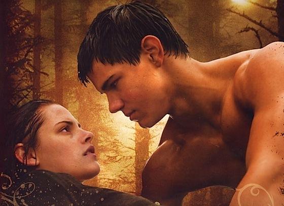 Jacob saving Bella (calendar)