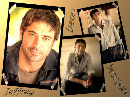 Jeffrey Dean morgan wallpaper with a sign entitled Jeffrey Dean morgan