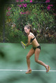 Jennifer Love Hewitt Playing Tennis