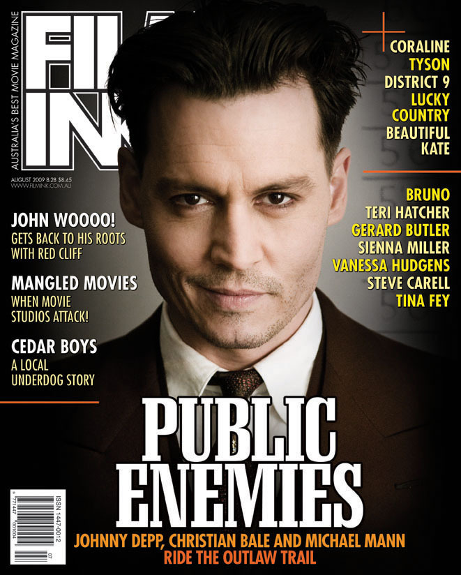 Johnny Depp Public Enemies. Johnny Depp Interview in