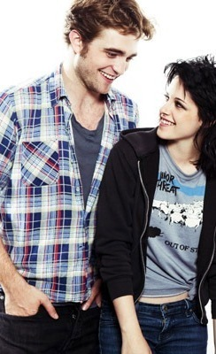 Just Robsten - so cute :)