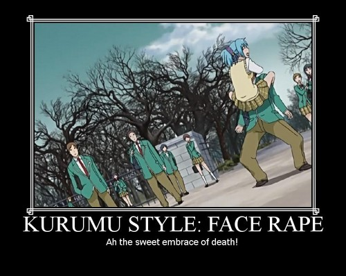 Kurumu style - Face rape