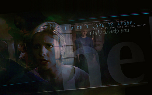 buffy, a caça-vampiros wallpaper probably with a sign called Lessons/Beneath You