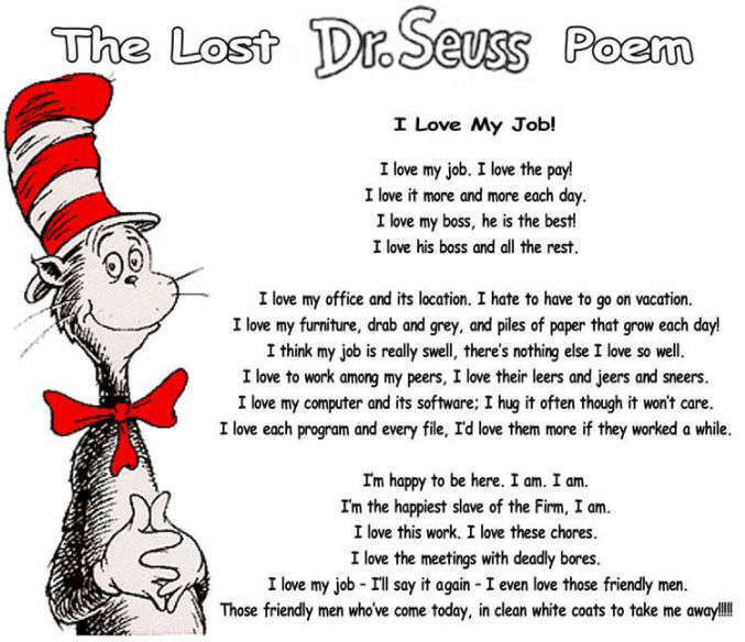Lost Dr.Seuss Poem! - House MD Fans Photo (7400290) - Fanpop