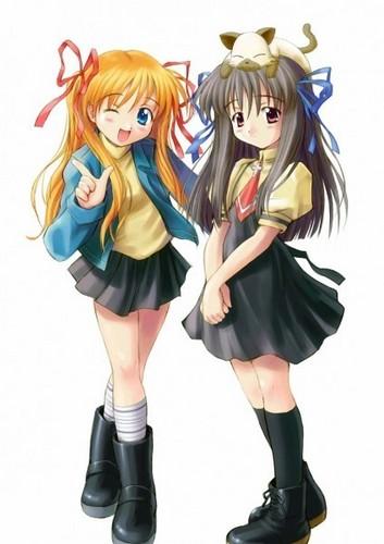 Makoto and Minagi