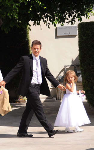 Mark Wahlberg and Rhea Durham Wedding
