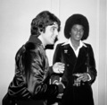 May 31, 1977: Michael visits Studio 54 after attending the Beatlemania concert. - michael-jackson photo