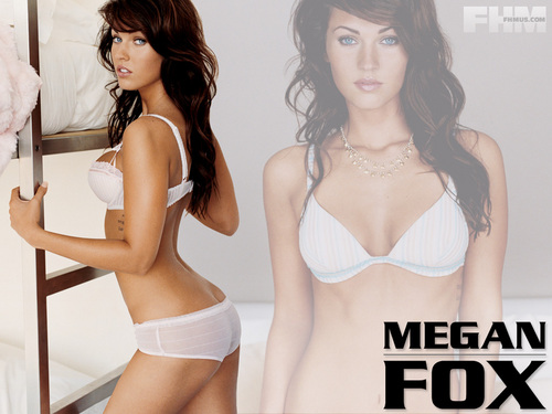 megan rubah, fox wallpaper possibly with a brassiere, attractiveness, and a bikini entitled Megan rubah, fox