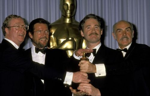 Michael Caine, Roger Moore, Kevin Kline and Sean Connery