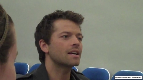 Misha Collins Comic Con 2009