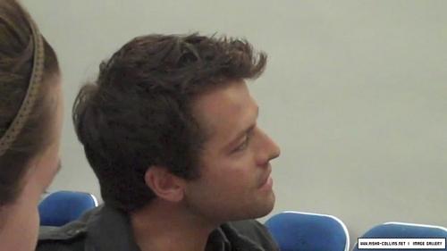 Misha Collins Comic Con 2009