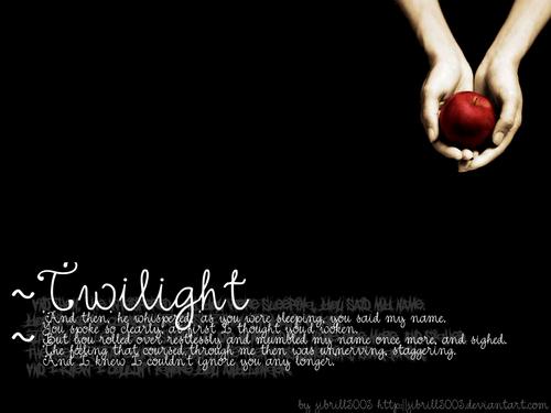 mais Twilight wallpaper!