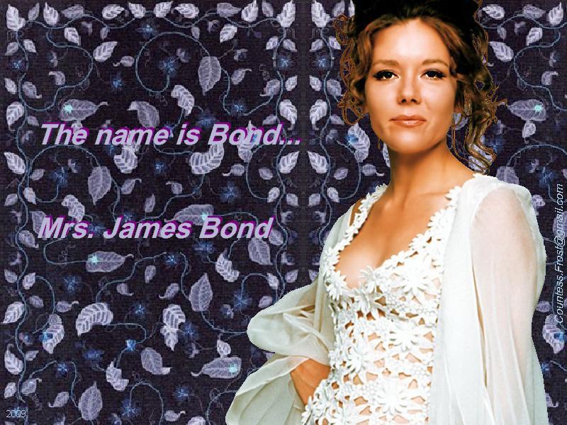 Mrs. James Bond