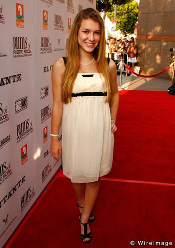 """Nathalia at """"El Cantante"""" premiere Los Angeles, California July 31, 2007"""
