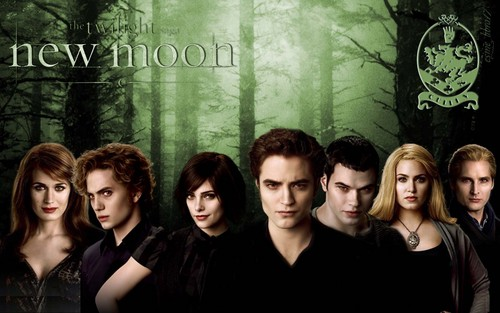 HD New Moon achtergrond - The Cullens
