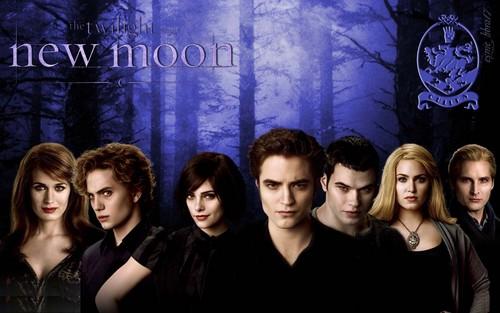 HD New Moon wallpaper - The Cullens