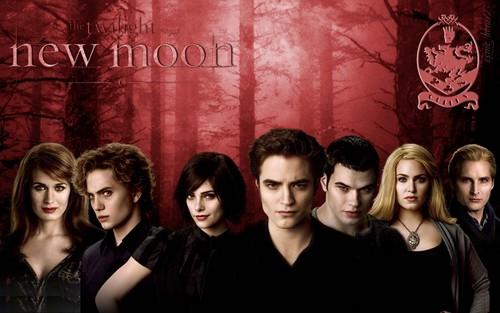 HD New Moon پیپر وال - The Cullens