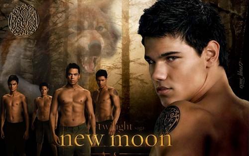 New Moon দেওয়ালপত্র - নেকড়ে-মানুষ