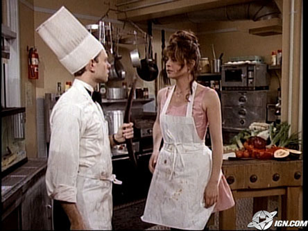 Niles and Daphne cooking