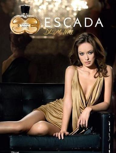 Olivia Wilde in the 2009 Desire Me Escada Perfume Campaign