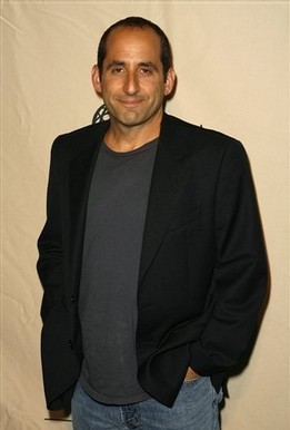 Peter Jacobson wallpaper possibly with a business suit, a suit, and a well dressed person titled Peter Jacobson