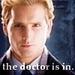 Peter as Carlisle.<3