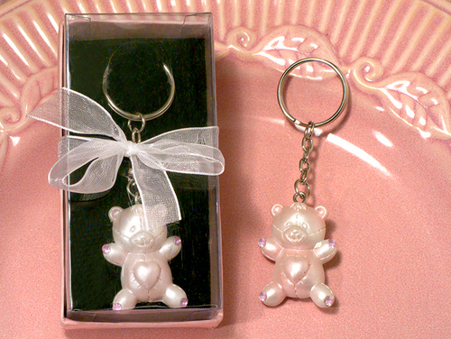 담홍색, 핑크 Teddy Keychain,For IsisRain
