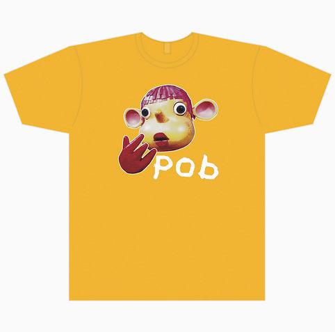 Pob T-shirt, laranja
