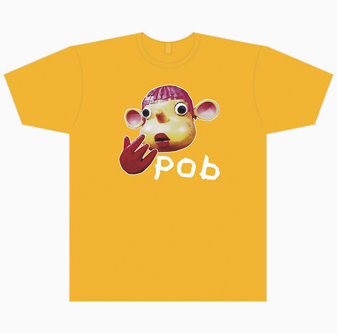 Pob T-shirt, नारंगी, ऑरेंज