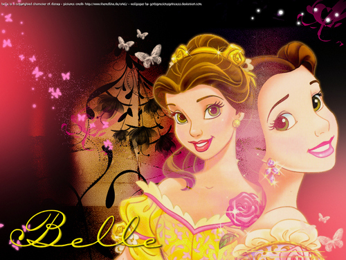 Belle wallpaper possibly with anime called Princess Belle