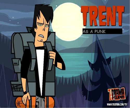Punk Trent - total-drama-island Fan Art