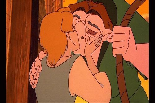Quasimodo and Madellaine - disneys-couples Screencap