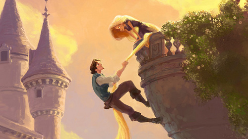 Rapunzel - A Future 디즈니 Princess