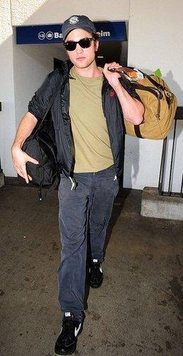Rob at the Airport