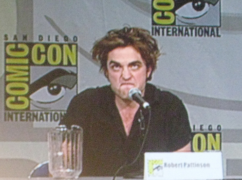 Robert Pattinson's Funny Face