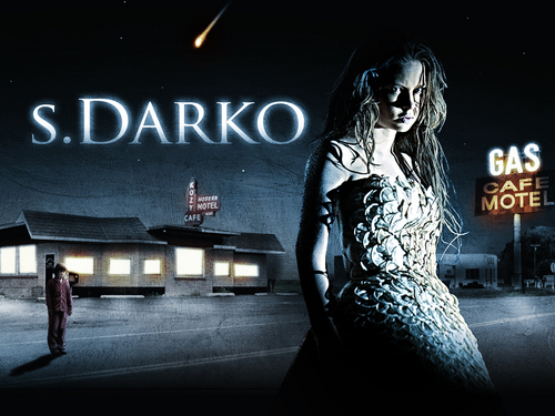 Horror Movies wallpaper containing a sign entitled S. Darko