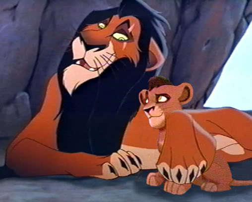The lion king scar and kovu - photo#4
