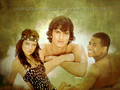 Silver, Navid, And Dixon - 90210 wallpaper