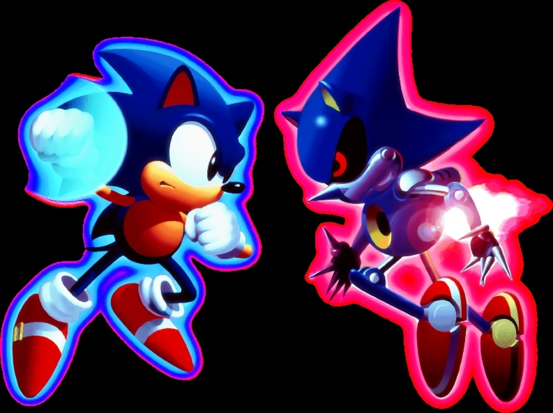 Metals Images Sonic Vs Metal Sonic Hd Wallpaper And Background