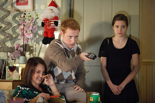 Stacey, Bradley and Lauren Branning