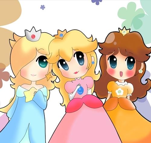 Super Mario Princesses