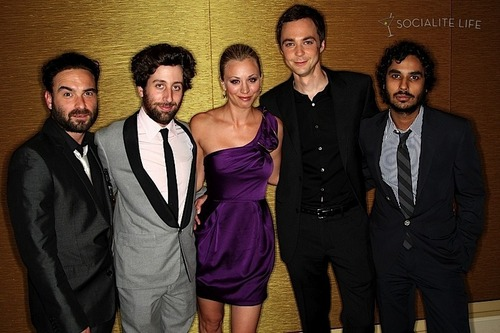 The Cast of 'The Big Bang Theory' @ the 2009 TCA's