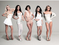 The Saturdays - Tampax Pearl photoshoot