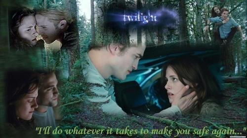 Twilight and New Moon Обои